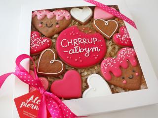 Chrupałbym... Ciasteczka na Walentynki dla dziewczyny